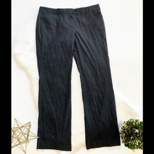 Dana Buchman Metallic Fleck Wool Dress Pants - 14